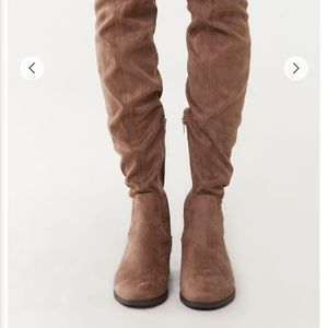 Forever 21 thigh high boots